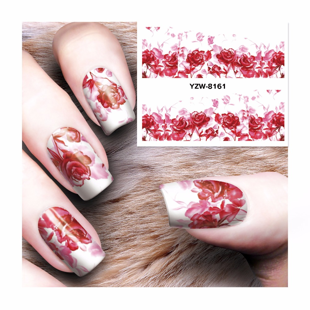 LCJ 1 Sheet 2017 New Dream Catcher Water Transfer Nail Art Sticker Decals DIY Decoration For Beauty Tools  8161