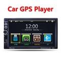 2 Din Автомобильный Мультимедийный Плеер, GPS навигация 7 ''HD Bluetooth стерео Радио FM MP3 MP5 Аудио Видео USB Авто Электроника авторадио