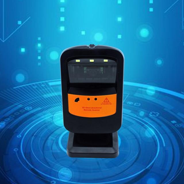 2D Platform Scanner CCD Barcode Scanning Platform Automatic Indication Barcode Scanner Laser Barcode Gun Barcode Reader