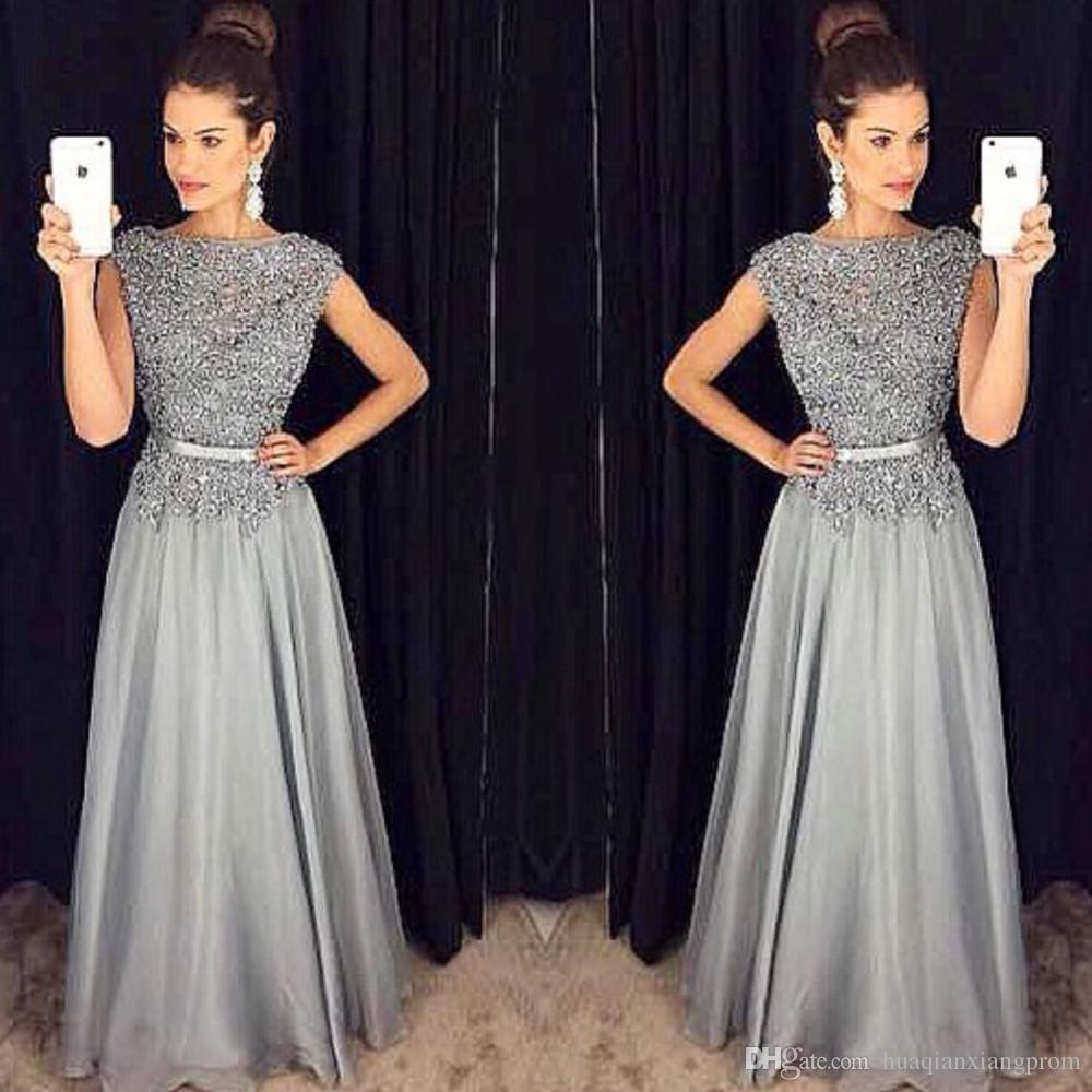Popular Silver Chiffon Dress-Buy Cheap Silver Chiffon Dress lots ...