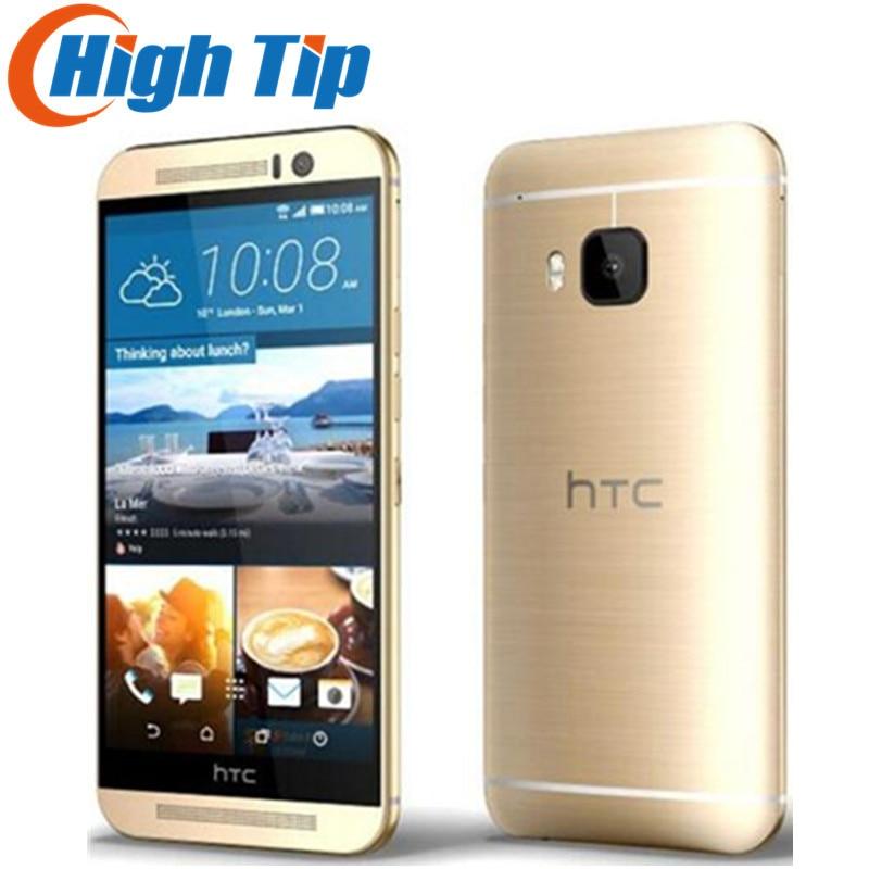 Original Unlocked HTC One M9 GSM 3G&4G Android Quad core RAM 3GB ROM 32GB Mobile Phone 5.0 WIFI GPS 20MP Refurbished Dropship