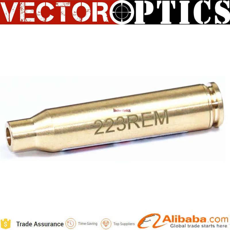 10 шт. векторная оптика патрон латунная цилиндрическая форма AR15 223 красная точка
