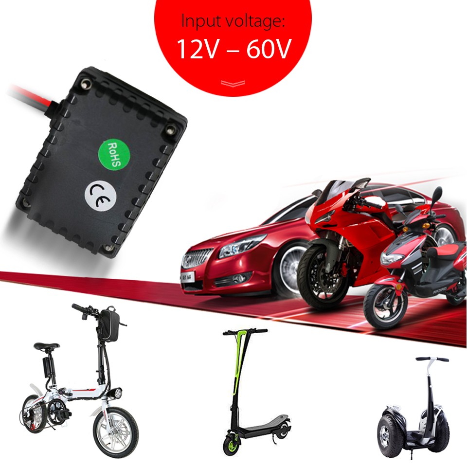 VJOYCAR T0024 Car GPS Tracker Mini Waterproof 12 60V