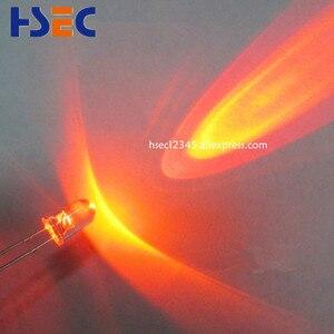 Image 3 - 1000 pcs 5mm Trasparente led di Colore Arancione ha condotto la luce super luminoso emitting diode F5MM LED Arancione hanno 5 MILLIMETRI bianco rosso Verde Bule