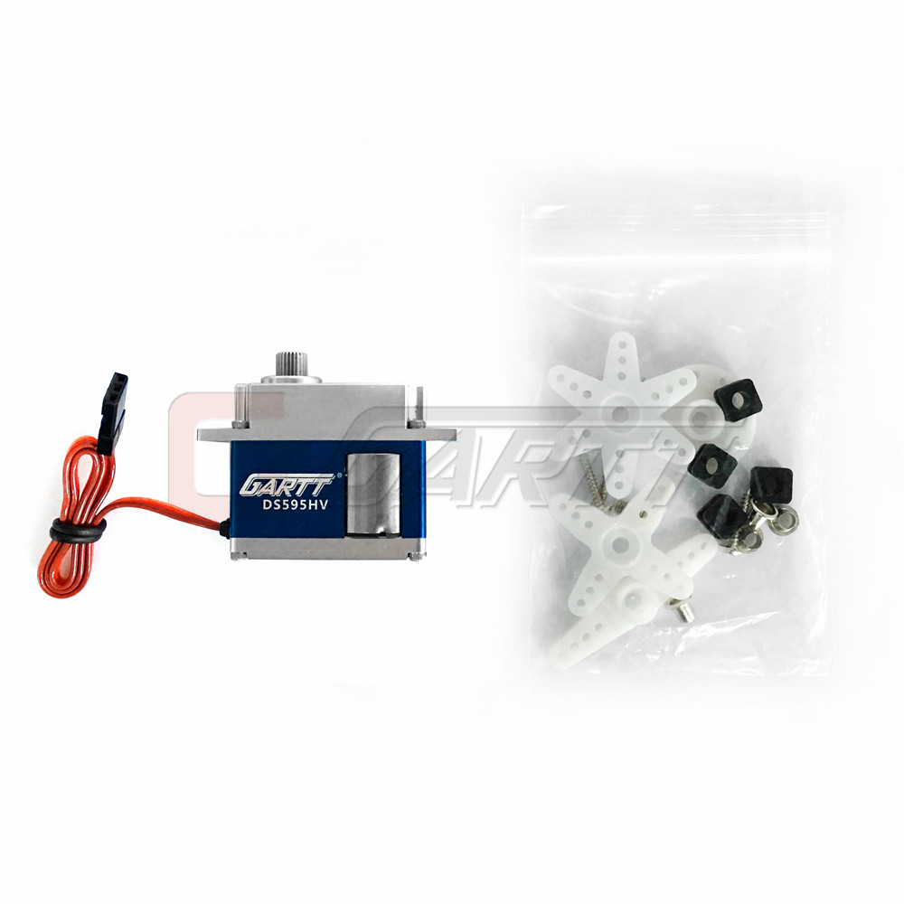 GARTT KST DS595MG Tail HV Servo with Digital Coreless Brushed for RC Align Trex 500 550 600 Helicopter polaris pmg 2033al