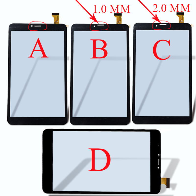 8 inch Touch Screen panel digitizer glass YJ350FPC-V0 FHX DP080133-F1 For DEXP Ursus Z180 3G/N280/N180/P280/NS280 Tablet Sensor witblue new touch screen for 8 dexp ursus z180 3g tablet touch panel digitizer glass sensor replacement free shipping