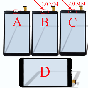"""8"""" inch Touch Screen panel digitizer glass YJ350FPC-V0 FHX DP080133-F1 For DEXP Ursus Z180 3G/N280/N180/P280/NS280 Tablet Sensor(China)"""