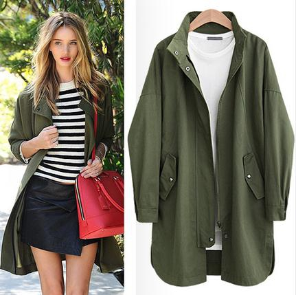 Beautiful Trench Coats Designs For Women 2017 Autumn Spring Wear ...