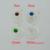 4 Pedra Cor Pode Escolha/Etíope de Prata conjuntos de Jóias Pedaço de Cabelo/Testa Cadeia conjuntos de Jóias de Casamento Habesha Eritreia #001017