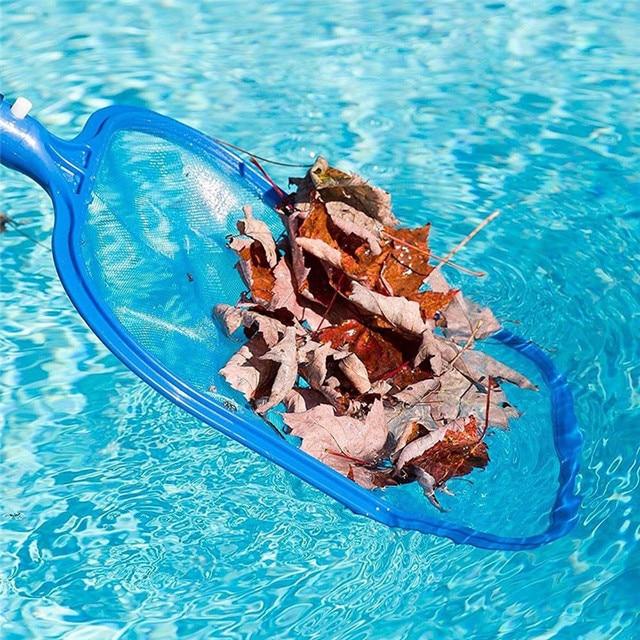 Hot Professional Leaf Rake Mesh Frame Net Skimmer Cleaner Swimming Pool Spa Tool Drop Shipping