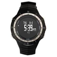 H005 Ezon Senderismo Profesional Deportes Aleación De Reloj Con Brújula Altímetro Barómetro Termómetro Digital Worldtime 5ATM Impermeable