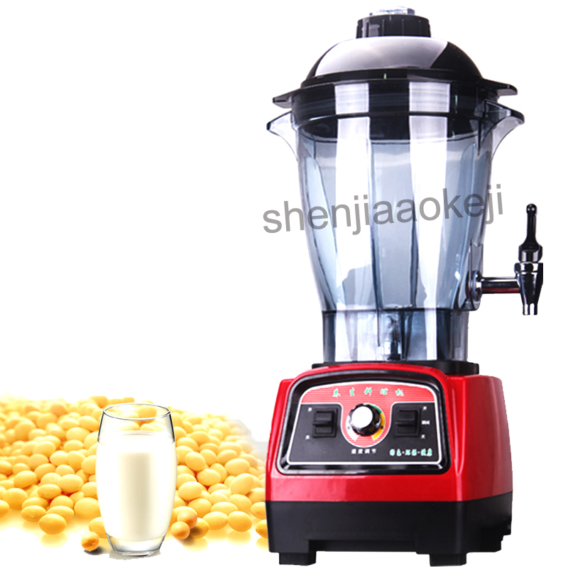 Soybean milk machine Fruit juice smoothie milkshake Ice Blender Mixer Juicer Countertop Commercial 6LSoybean milk machine Fruit juice smoothie milkshake Ice Blender Mixer Juicer Countertop Commercial 6L