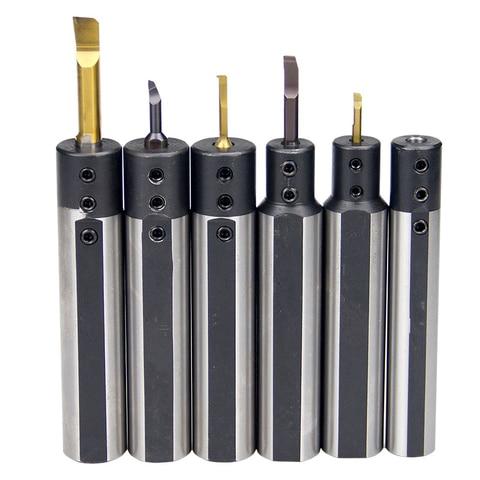 Liga de Aço Pces 20-3 4 5 6 7 8 10 12 Combinando Fino Tungstênio Buraco Pequeno Diâmetro Chato Faca Conjuntos 1 Shb12 – 16 Mod. 330751