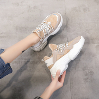 woman Sneakers Women Casual Shoes white Breathable Femme 2019 Spring Autumn Shoes Women Sneakers Flats Fashion Lace Up