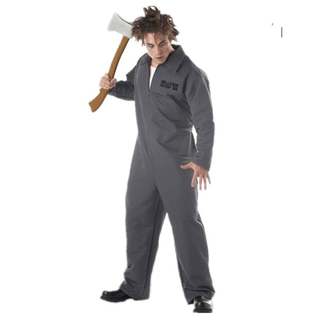 shanghai story adult halloween christmas party axe murderer cosplay costume man movies role playing costumes - Story Of Halloween Movie
