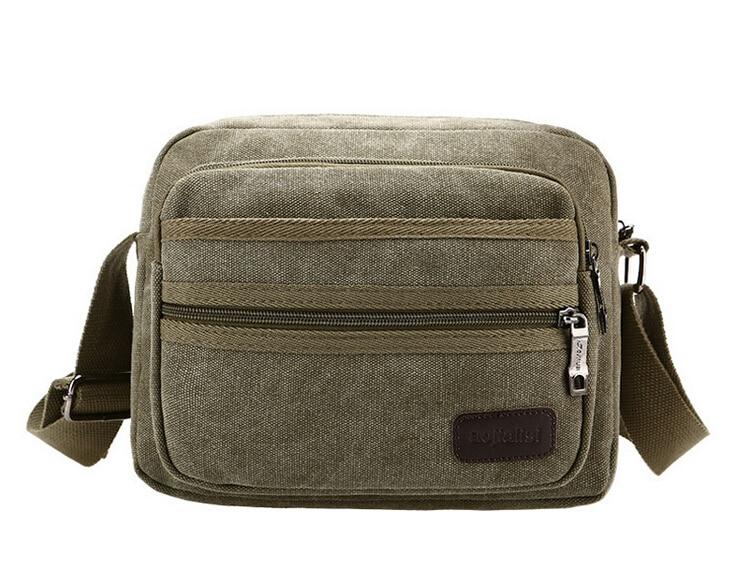 Hot New Casual High Quality Canvas Bag Men   Cross-body Bag Men's Messenger Bags Free Drop Shipping   LJ-168