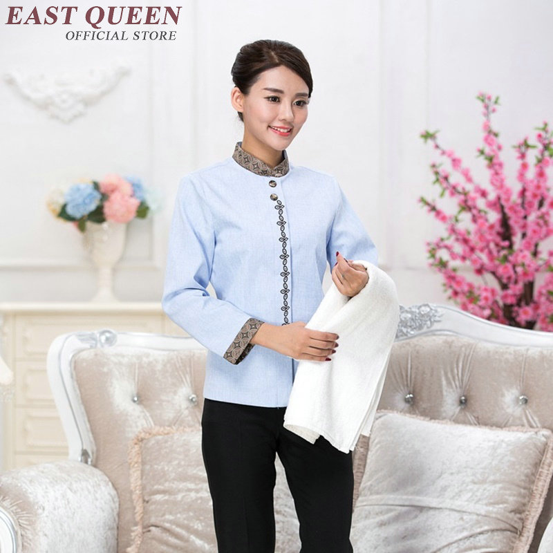 Housekeeping Uniforms Hotel Uniform Restaurant Waitress Uniforms Waitress Uniform Pastry Housekeeping Clothing NN0017