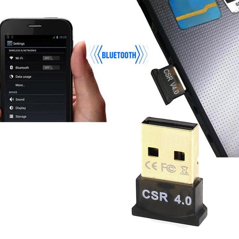 Anbes Bluetooth 4.0 USB адаптер для ПК передатчик Bluetooth Беспроводной Bluetooth Dongle аудио адаптер приемник для vista/xp/ 8/10