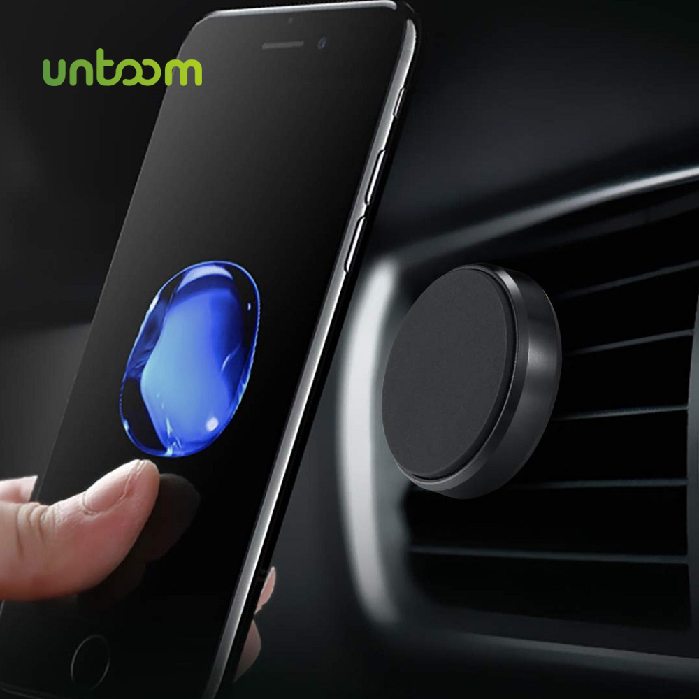 Untoom Magnetic Car Phone Holder For IPhone X Xs Max 7 8 Magnet Air Vent Mount For Samsung S9 S8 In Car Cell Phone Stand Holder