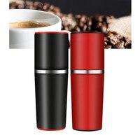 Coffee Grinder Outdoor Mini Stainless Steel Hand Manual Handmade Coffee Bean Burr Grinders Mill Italian Coffee Instant Machine