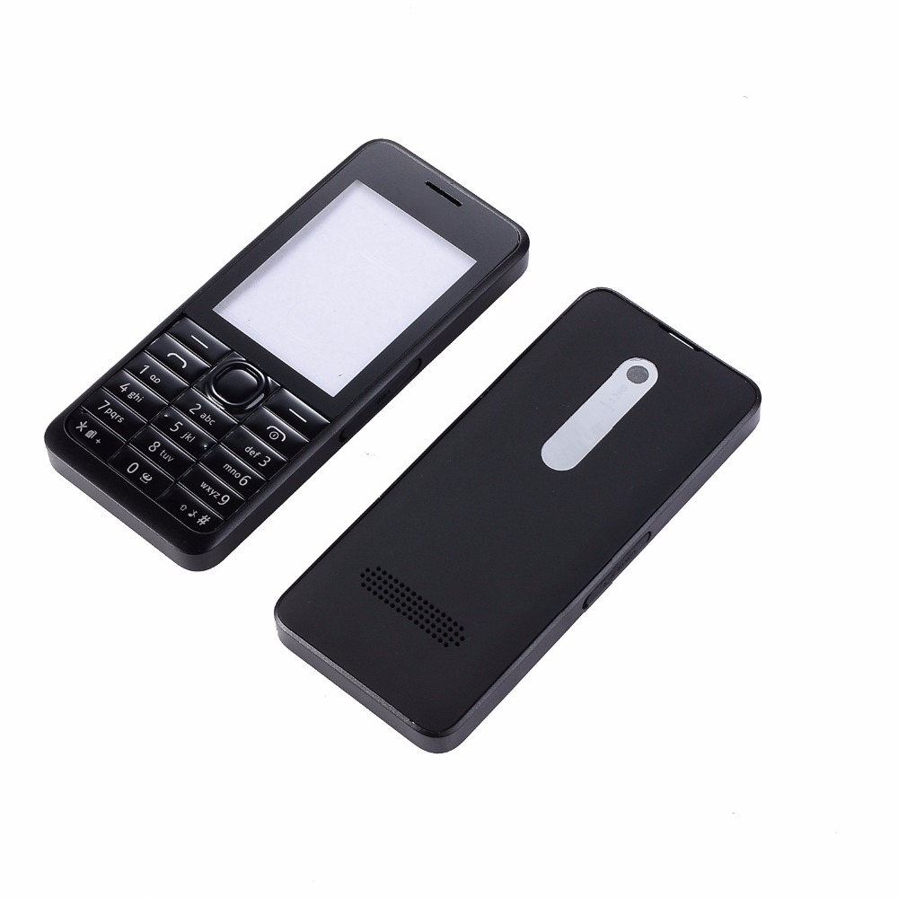 For Nokia Asha 301 N301 Dual Card Version Housing Cover + Keypad + Battery Cover +Tools