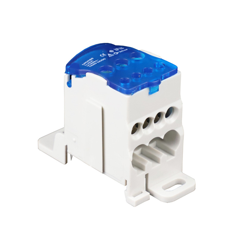 'The Best' UKK80A Terminal Block Din Rail Distribution Box Universal Electric Wire Connector Box 889