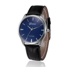 Watch Luxury Men Clock Retro Design Leather Band Quartz Watches Alloy Analog WristWatch MenRelojes mujer