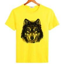 Bgtomato marca original de buena calidad hombre de impresión Lobo rey  caliente estilo tres colores de 0b29f4021ef