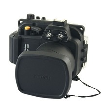 40M 130FT Waterproof Underwater Camera Housing Case Cover Bag for Canon 600D T3i Camera + O-ring
