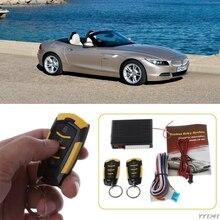 Высокое качество 12V авто система дистанционного управления с сигнализацией для центральная система запирания дверей автомобиля Автозапуск Системы комплект стайлинга автомобилей