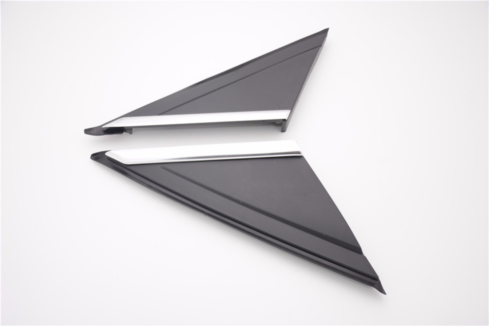 1Pcs Front Mirror Modling Cover Triangle Trim Right for Ford Focus 2012-2017