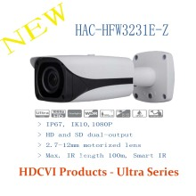 DAHUA Security Camera CCTV 2MP FULL HD Starlight HDCVI IR Bullet Camera Without Logo HAC-HFW3231E-Z