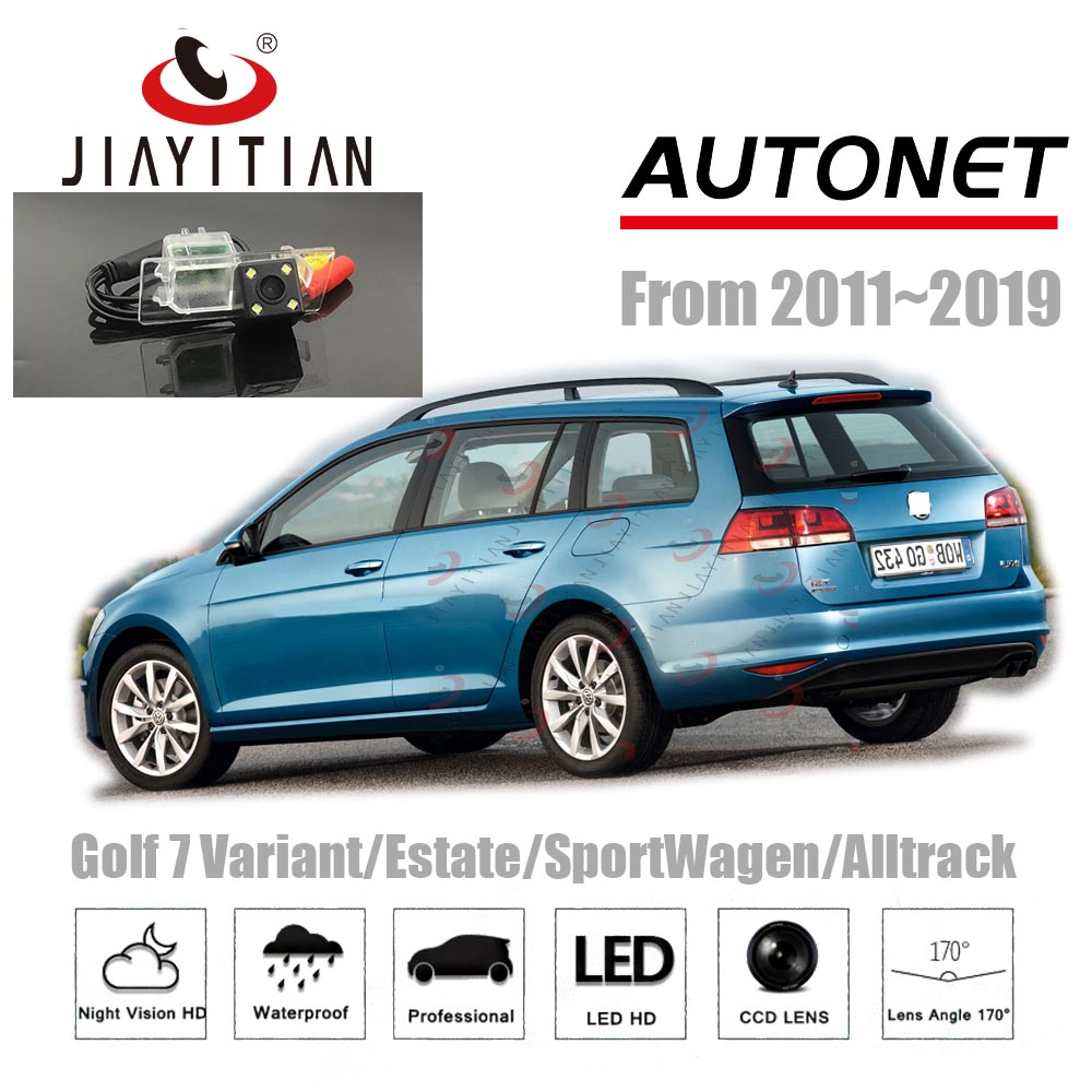 JIAYITIAN Rear View Camera For VW Golf 7 5G Variant Wagon Alltrack/Backup Camera/ccd Night