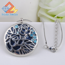 (1 piece / lot) 100% Alloy Drop Flower Necklace Pendant