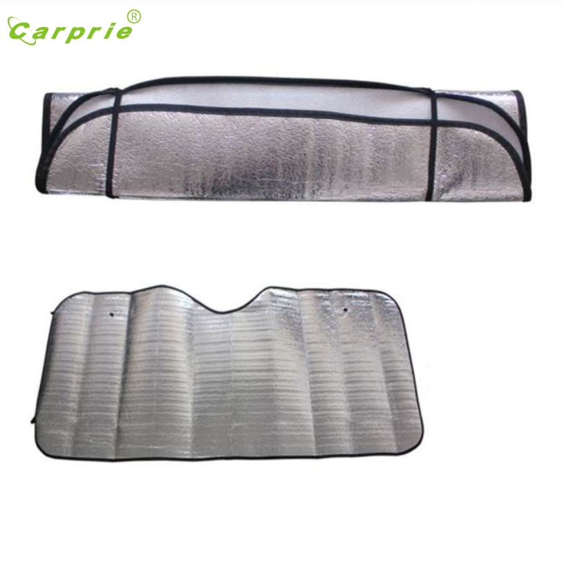 CARPRIE Hot Selling 1Pc Casual Foldable Car Windshield Visor Cover Front Rear Block Window Sun Shade Gift Mar 24CARPRIE Hot Selling 1Pc Casual Foldable Car Windshield Visor Cover Front Rear Block Window Sun Shade Gift Mar 24