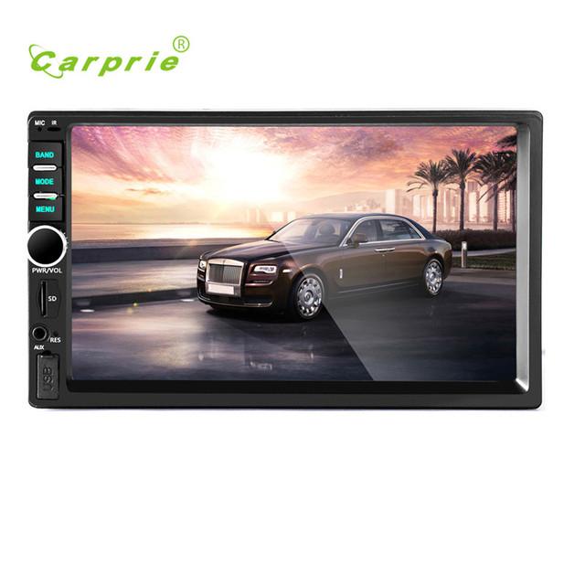 Mini Player De Vídeo Do Carro AUTO Estéreo DVD Tela de Toque Do Bluetooth estéreo Rádio Do Carro MP5 USB Audio Auto Eletrônica No Traço FEB15