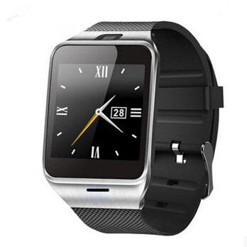 Smartch HOT selling gv18 Aplus smart watch phone NFC camera pedometer smartwatch 450mAh for android wristwatch