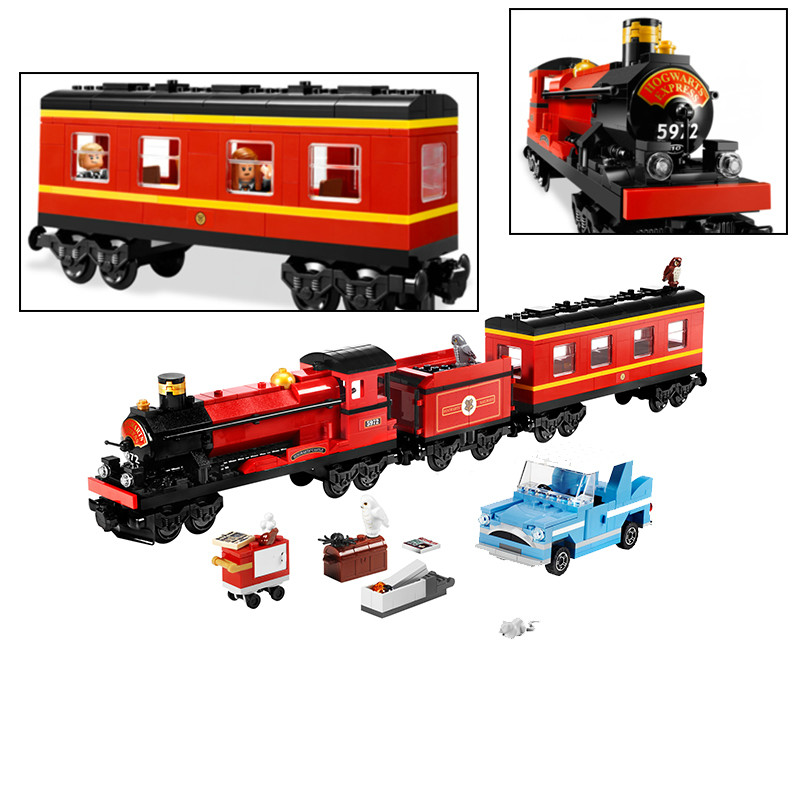 724pcs The Hogwarts Express train Building Blocks Bricks Educational DIY Toys for Children Compatible with Harry Boy gifts Poter train set building blocks early educational diy brick toys for children compatible with legoings juguetes