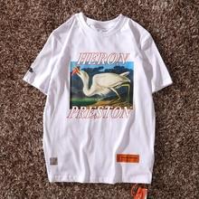 Heron Preston T Shirts Women Men 1:1 High Quality Crane Heron Preston T Shirt Hip Hop Streetwear Heron Preston Top Tees