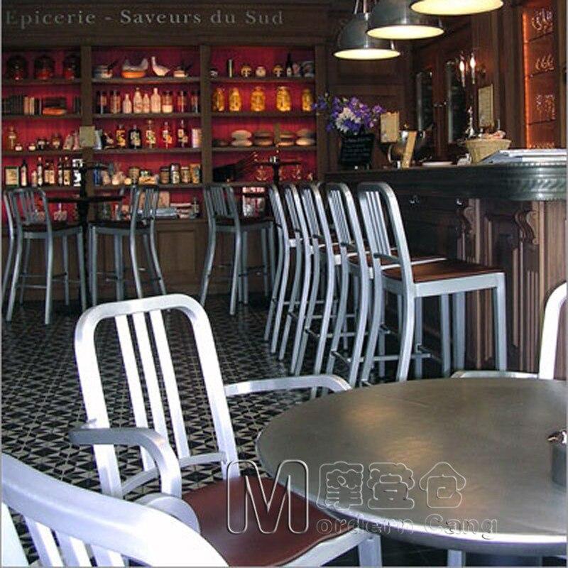 Modern Warehouse Aluminum Bar Chairs Metal Chairs NAVY CHAIR Jane Navy Bar  Stool Bar Stool Chairs Outdoor Bar Stool On Aliexpress.com | Alibaba Group