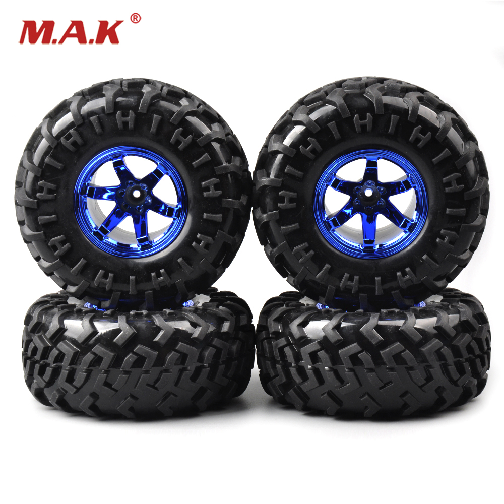 toys for children 4 PCS/Set 12mm Hex Climbing Tire Rim For HSP Racing 1:10 RC truck on road car 3001B rc car wheels