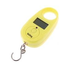 25 кг Мини цифровые весы электронные кухонные весы стабильный Ручной Карманный весовые весы для рыбалки и взвешивания крючок багажные весы грамм