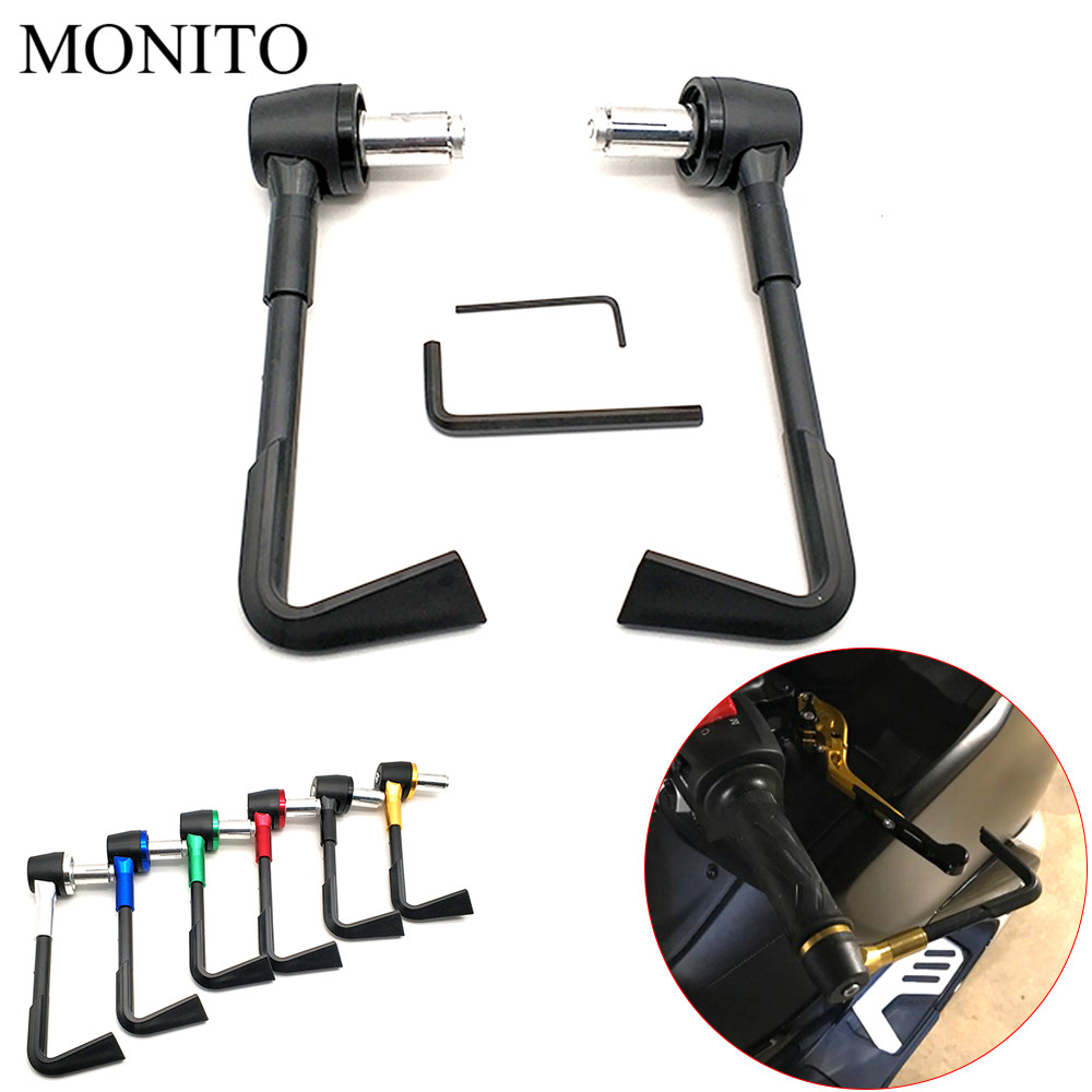 Motorcycle CNC <font><b>Protector</b></font> Proguard System Brake Clutch Levers Protect Guard For <font><b>YAMAHA</b></font> <font><b>WR</b></font> 250X 250R 450F TTR 125 <font><b>250</b></font> 600 TTR250 image