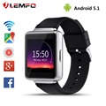 "New K1 Android 5.1 Smart Watch RAM 512M ROM 8GB 1.54"" Display Wifi Bluetooth Smartwatch Support Whatsapp Facebook Google Map GPS"