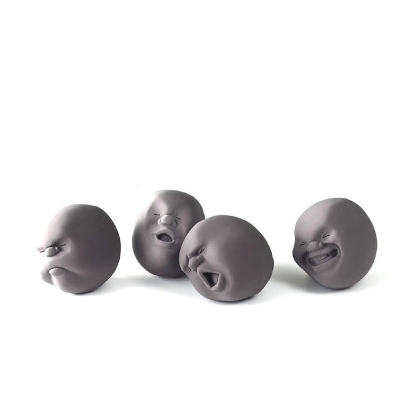 Fun Novelty Caomaru Antistress Ball Toy Human Face geek surprise Emotion  Vent Ball Resin Relax Adult Stress Relieve ToyGift k010-in Gags & Practical