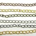 New 6-7cm 100pcs Extended Extension Jewelry Chains/Tail Extender mixed colour