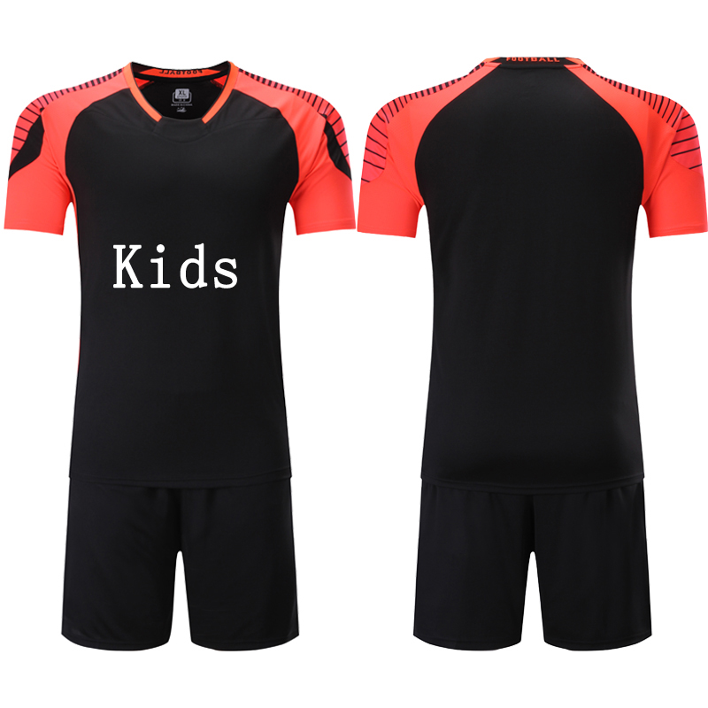 new styles 4b404 3e231 US $12.84 25% OFF|New Arrival Cheap Child Kids Football Kit 2017 Soccer  Jersey Kids Sets Suit Team Custom Tram Training Football Shirts Jersey-in  ...