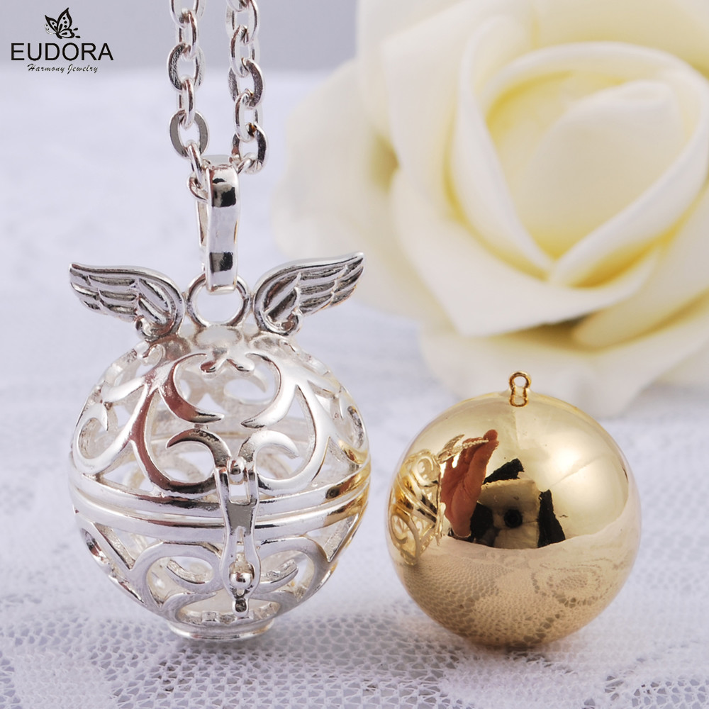 bell ball angel gift eudora item egg unborn pregnancy in jewelry baby to from pendant harmony make prayer best soothing pendants sound necklace