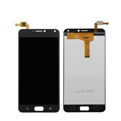 Frete grátis forasus zenfone 4 max zc554kl digitador da tela de toque vidro display lcd assembléia substituição