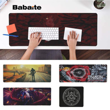 Babaite Anime FULLMETAL ALCHEMIST Customized MousePads Computer Laptop Anime Mouse Mat Rubber PC Computer Gaming mousepad